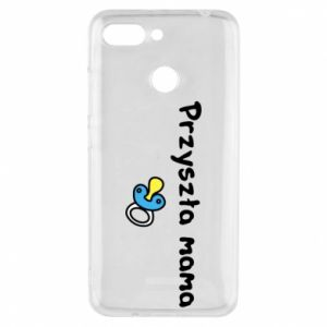 Phone case for Xiaomi Redmi 6 Future mommy for a boy