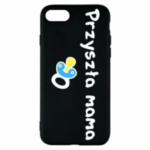 Phone case for iPhone 7 Future mommy for a boy