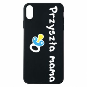 Phone case for iPhone Xs Max Future mommy for a boy