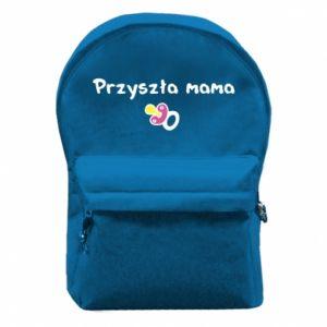 Plecak z przednią kieszenią Przyszła mama dla dziewczyny