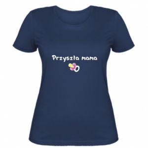Damska koszulka Przyszła mama dla dziewczyny