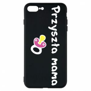 Phone case for iPhone 8 Plus Future mom for a girl