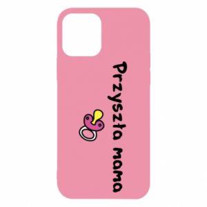 Etui na iPhone 12/12 Pro Przyszła mama dla dziewczyny