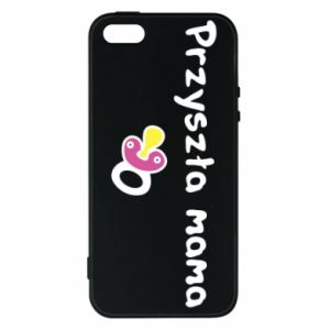 Phone case for iPhone 5/5S/SE Future mom for a girl