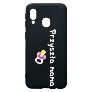 Phone case for Samsung A40 Future mom for a girl