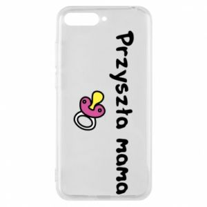 Phone case for Huawei Y6 2018 Future mom for a girl