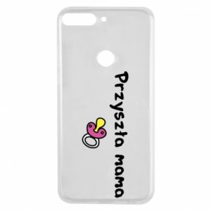 Phone case for Huawei Y7 Prime 2018 Future mom for a girl