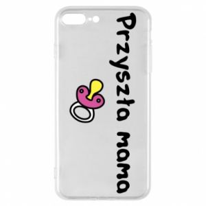 Phone case for iPhone 7 Plus Future mom for a girl