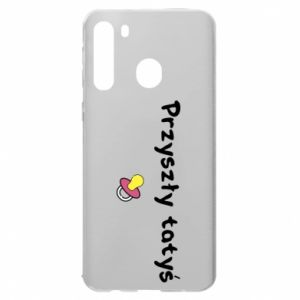 Samsung A21 Case Future daddy for a girl
