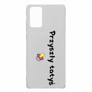 Samsung Note 20 Case Future daddy for a girl