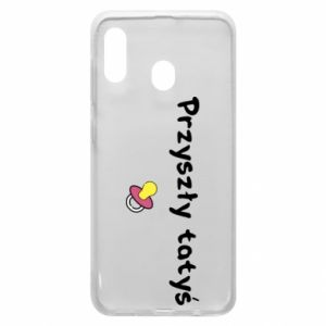 Samsung A20 Case Future daddy for a girl