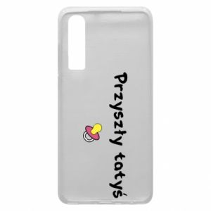 Huawei P30 Case Future daddy for a girl