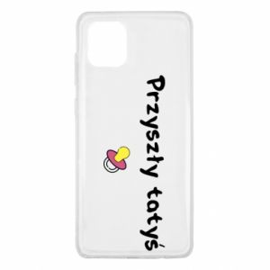 Samsung Note 10 Lite Case Future daddy for a girl