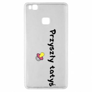 Huawei P9 Lite Case Future daddy for a girl