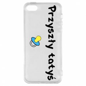 Phone case for iPhone 5/5S/SE Future daddy. Boy