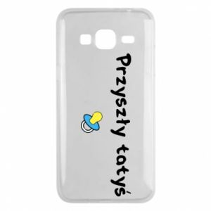 Phone case for Samsung J3 2016 Future daddy. Boy