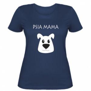 Damska koszulka Psia mama