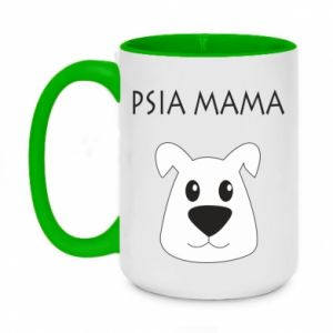Two-toned mug 450ml Dogs mother