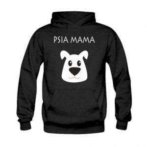 Bluza z kapturem dziecięca Psia mama