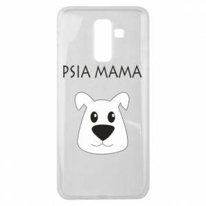 Samsung J8 2018 Case Dogs mother