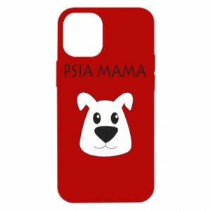 Etui na iPhone 12 Mini Psia mama