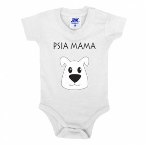 Baby bodysuit Dogs mother