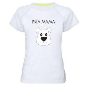 Women's sports t-shirt Dogs mother
