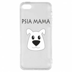 iPhone 5/5S/SE Case Dogs mother