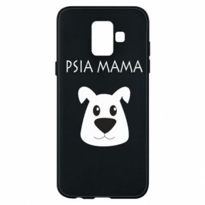 Samsung A6 2018 Case Dogs mother