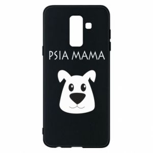 Samsung A6+ 2018 Case Dogs mother