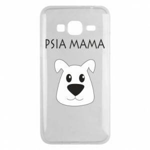 Samsung J3 2016 Case Dogs mother