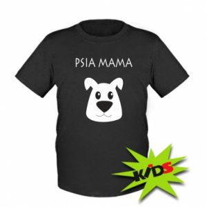 Dziecięcy T-shirt Psia mama