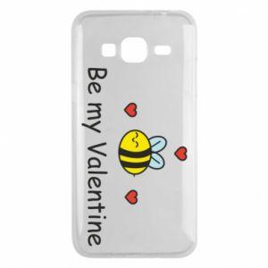 Etui na Samsung J3 2016 Pszczoła i serce