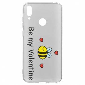 Etui na Huawei Y7 2019 Pszczoła i serce