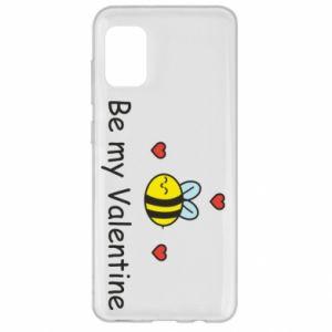 Etui na Samsung A31 Pszczoła i serce