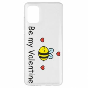Etui na Samsung A51 Pszczoła i serce
