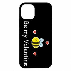 Etui na iPhone 12 Mini Pszczoła i serce