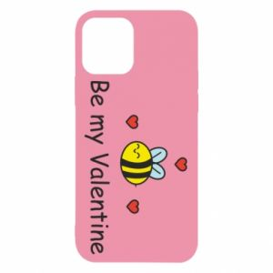 Etui na iPhone 12/12 Pro Pszczoła i serce