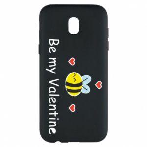 Etui na Samsung J5 2017 Pszczoła i serce