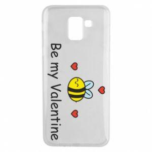 Etui na Samsung J6 Pszczoła i serce