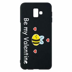 Etui na Samsung J6 Plus 2018 Pszczoła i serce