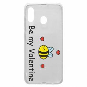 Etui na Samsung A20 Pszczoła i serce