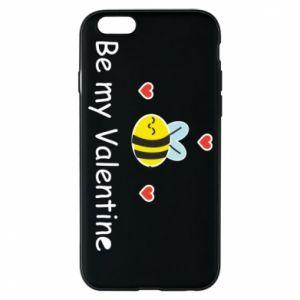 Etui na iPhone 6/6S Pszczoła i serce
