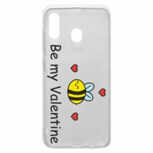 Etui na Samsung A30 Pszczoła i serce