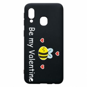 Etui na Samsung A40 Pszczoła i serce