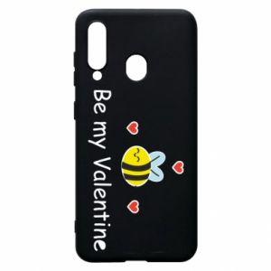 Etui na Samsung A60 Pszczoła i serce