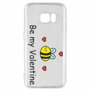 Etui na Samsung S7 Pszczoła i serce