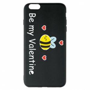 Etui na iPhone 6 Plus/6S Plus Pszczoła i serce