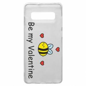 Etui na Samsung S10+ Pszczoła i serce