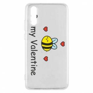 Etui na Huawei P20 Pszczoła i serce